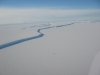 Long, long, long ice shelf in Antarctica