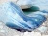 Antarctica Iceberg - Blue cascade