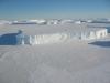 tabular iceberg in Antarctica - 2