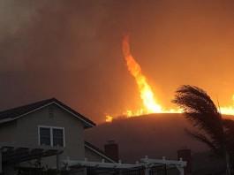 fire tornado, fire devil, fire tornado video, fire devil video, tornado of fire, fire in tornado, swirling fire tornado
