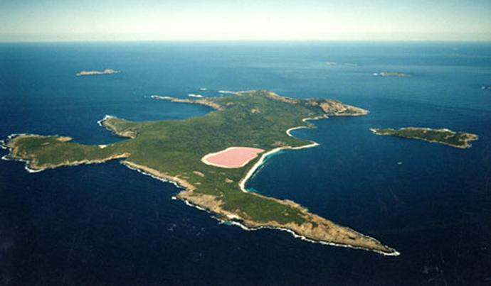lake hillier, pink lake hillier, lake hillier pictures, pink lake illier pictures and video, lake hillier video