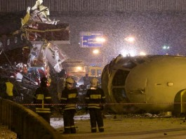 Moscow, 29 December 2012 Vnukovo Airport, Russia plane crash, russia, overshot the runway explosion, fire, plane crash, passenger plane crash, passenger, injured,