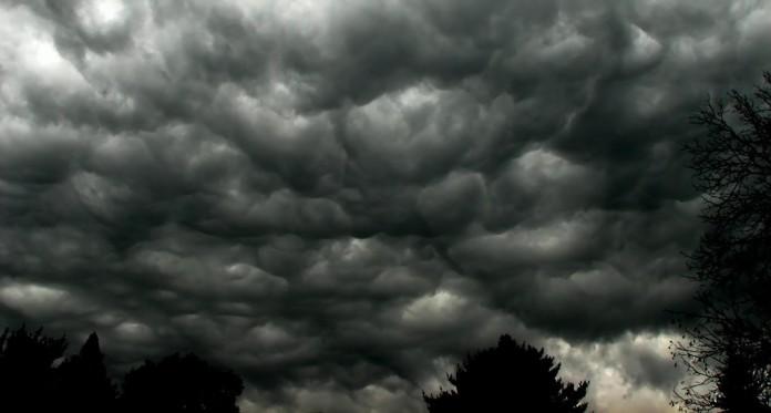storm, clouds, storm clouds