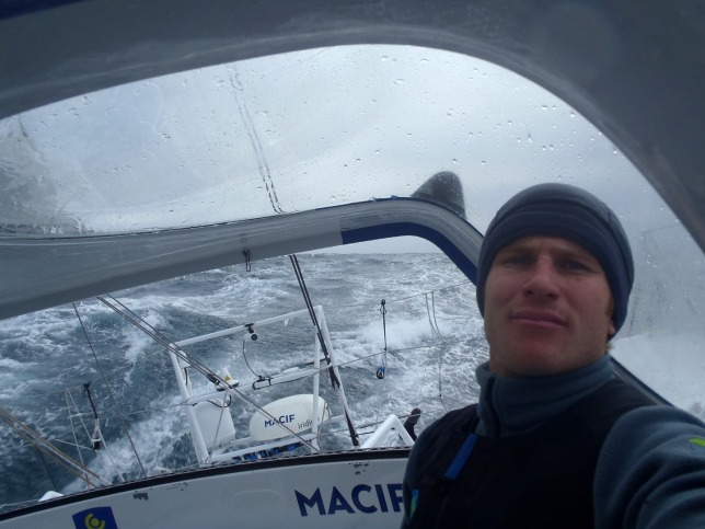 Francois gabard wins the vendee globe
