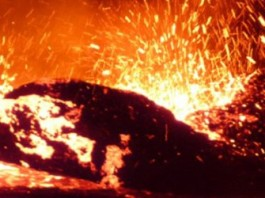 lava ocean, Africa, seismic activity tears africa in 2, 2 africa