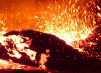 lava ocean, Africa, seismic activity tears africa in 2, 2 africa