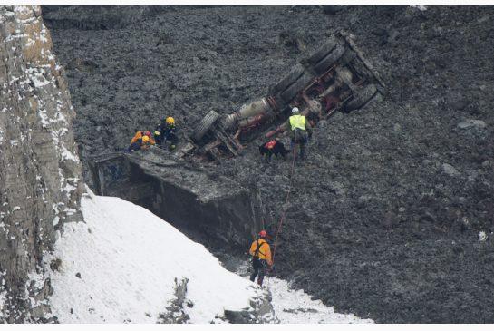 landslide in Montreal Nord (epiphanie), 2 people missing