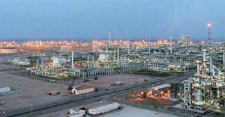 Jamnagar rafinery in India