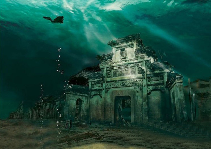 underwater cities, Legendary Underwater Cities Around the World, sunken city, amazing places, underwater cities video, Legends and Myths: There are many legendary cities around the world. Discover a compilation of ancient sunken places hidden in oceans across the globe!, underwater cities, legends, myths, sunken cities, Yonaguni-Jima, Japan, the Japanese Atlantis, Qiandao Lake, Hangzhou, China, Havana, Cuba, Pavlopetri, Greece, Baiae and Portus Julius, Italy, Port Royal, Jamaica, Kwan Phayao, Thailand, Bay of Cambay, India, underwater archeology, The ancient sunken city of Alexandria Egypt, Alexandria, Egypt,