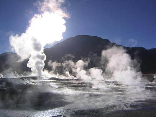 el tatio geyser northern chile