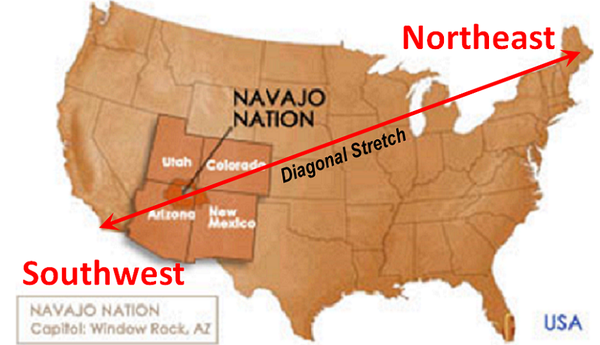 stretch zone in Arizona navajo country