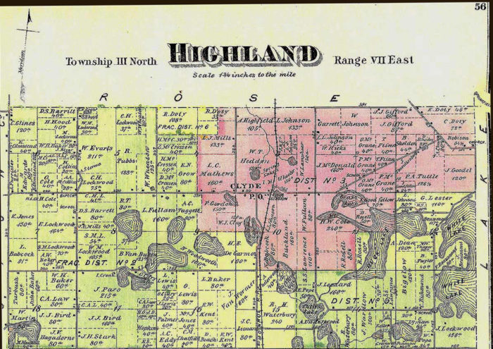 highland township, oakland county booms and map march 2013