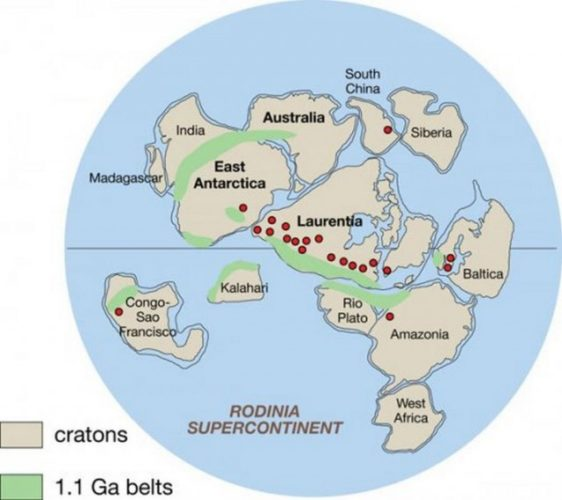 ancient lost continent discovered