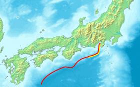 nankai through quake japan march 2013