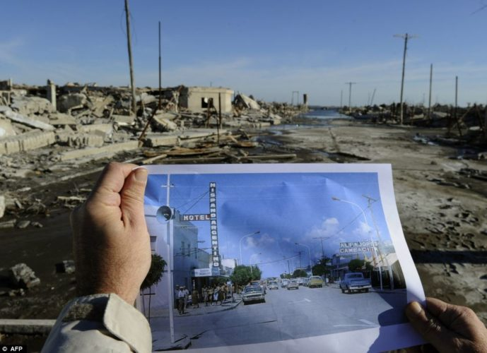 submerged city of epecuen argentina