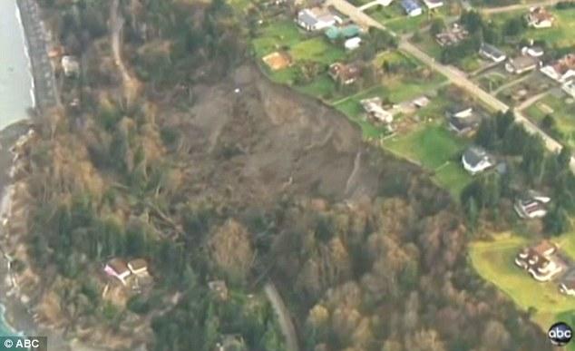 landslide destrucs 30 houses in washington state march 2013