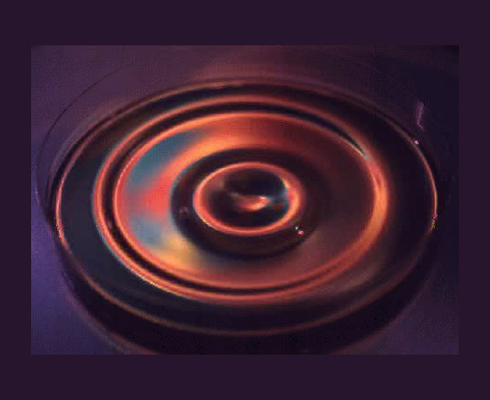 liquid gravity waves