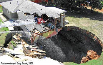 sinkhole, usgs, What causes sinkholes?, how sinkhole form, how can i detect sinkholes, sinkhole formation mechanism, And how to detect sinkholes?