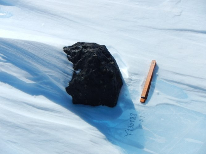largest meteorite found in east antarctica