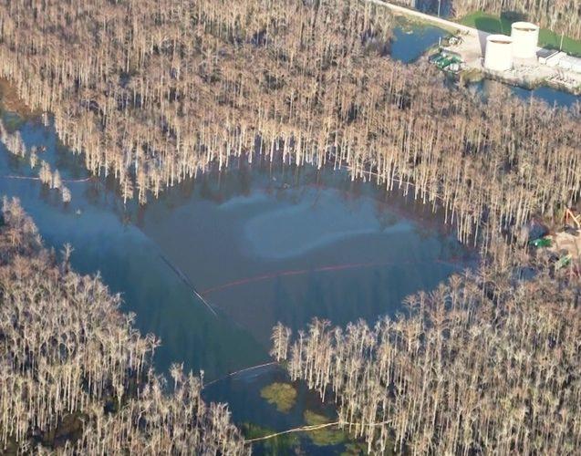 Bayou Corne sinkhole december 24 2012