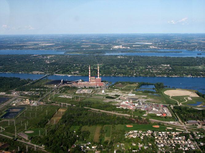 trenton channel power plant steam release april 23 2013