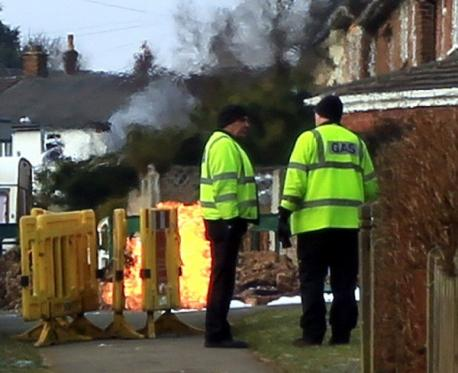 keighley gas leak explosion 2013