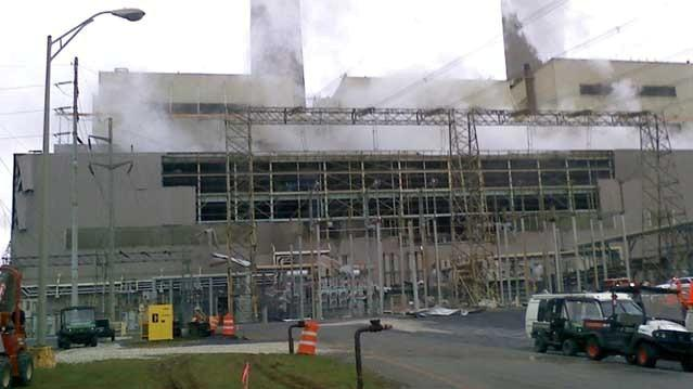 scary explosion at bowen power plant april 2013