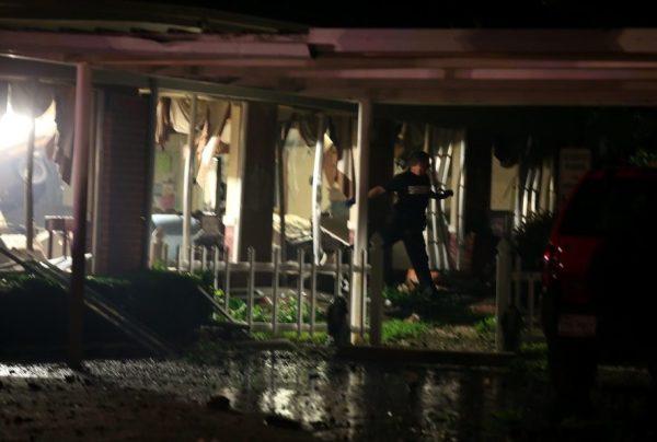 blast in fertilizer texas explosion damaged houses april 2013