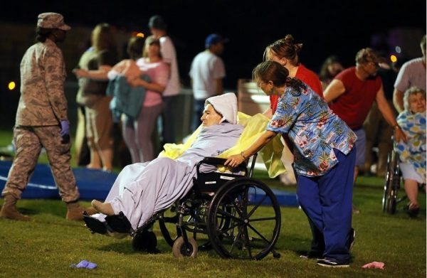 first aid camp after fertilizer factory explosion in texas april 2013