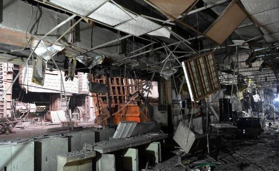 Xinyu city large explosion china 2013