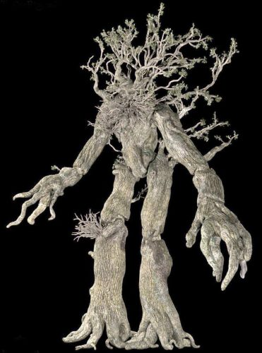 An Ent from the lord of the ring movies