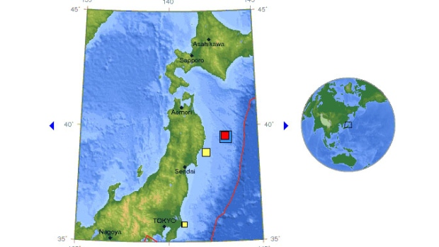 large earthquake in Japan april 2013