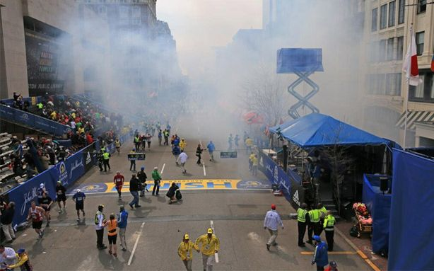 mysterious explosion at boston marathon april 2013