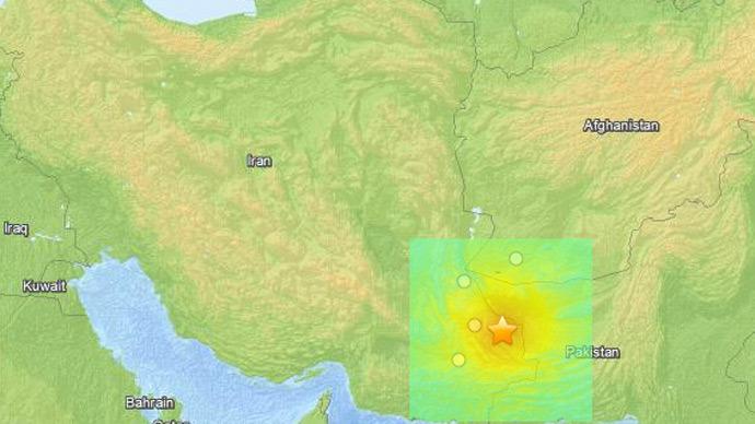 massive earthquake felt across India Iran and Pakistan april 16 2013