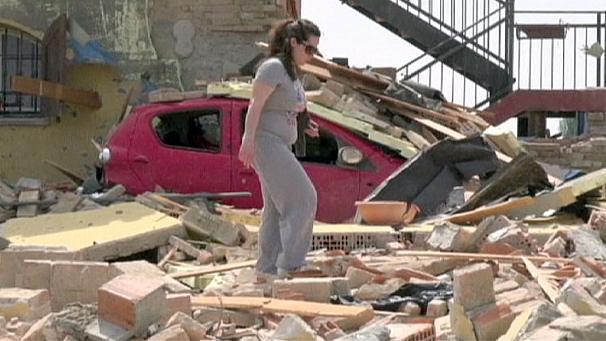 huge tornado hits northern italy near milan may 29 2013