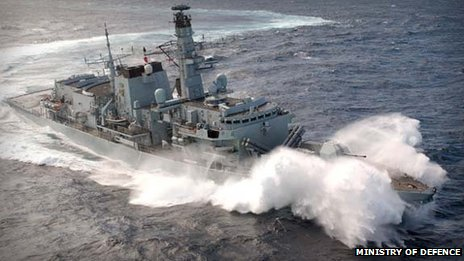 north wales booms: warship exercises may 2013