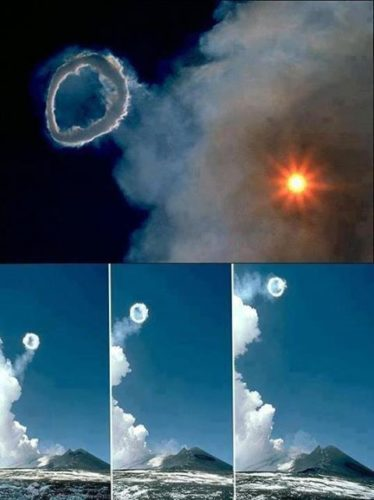 Mount etna blows smoke ring during volcanic eruption april 2013, etna smoke ring, volcanic smoke ring, smoke ring photo, smoke ring video etna, etna eruption smoke ring, weird nature phenomenon: volcanic smoke ring, rare volcanic phenomenon: volcanic smoke ring, smoke ring etna volcano april 2013
