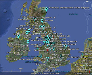 UK and Ireland Meteor May 22 2013