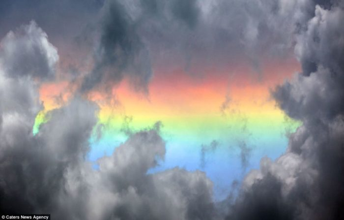 Fire rainbow over nepal, Amazing Fire Rainbow Clouds, Circumhorizontal Arc, Pictures, Amazing Fire Rainbow Clouds - Circumhorizontal Arc - Pictures, Amazing Fire Rainbow Clouds pictures, Circumhorizontal Arc Pictures, how fire rainbow form, multicolor cloud in the sky, rainbow cloud, cloud with rainbow color