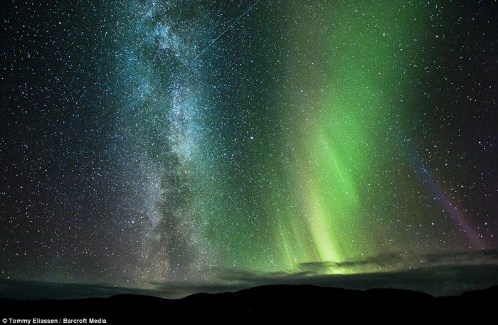 Aurora Borealis Saltfjellet Nordland Norway
