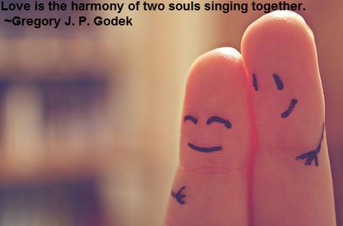 love is the harmony