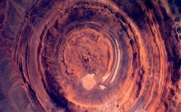 richat structure, richat structure mauritania, richat structure eye of africa, eye of sahara, richat structure mystery