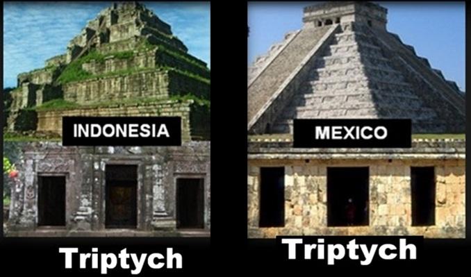 similarities between temples