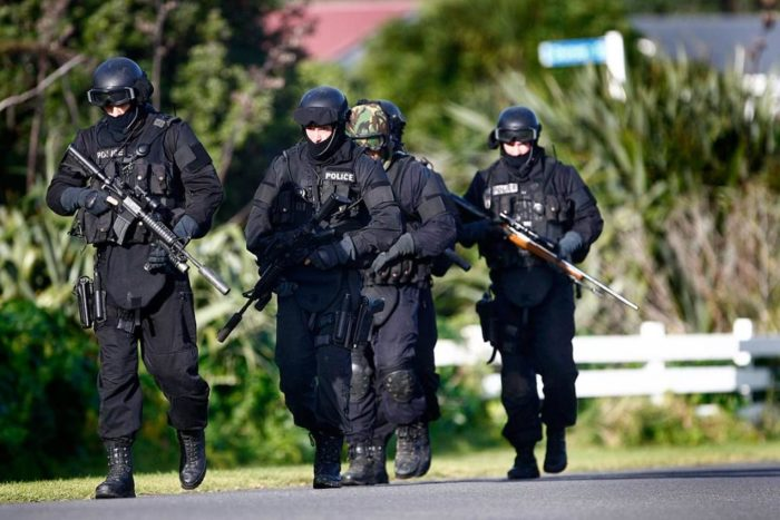 police explosive training responsible for loud booms in Christchurch nz june 2013
