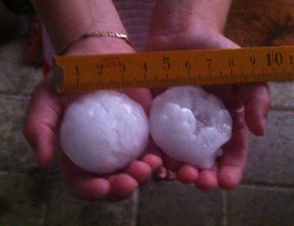 huge hail on zurich june 2013, juni 2013, hagel in zurich