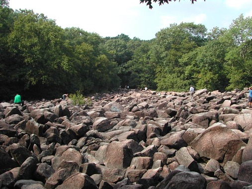 The Sonorous Stones of Ringing Rocks Park