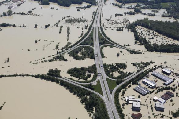 danube and elbe flood june 2013