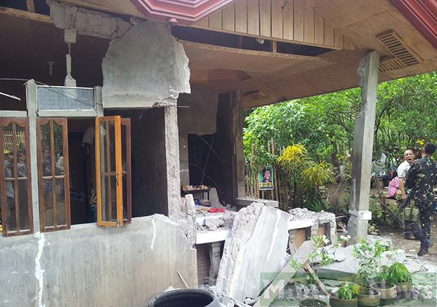 large damages after philippines earthquake june 2 2013