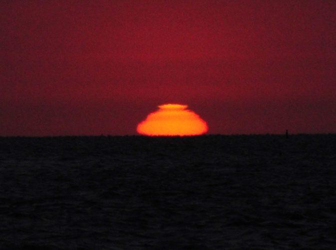 odd miraged sun