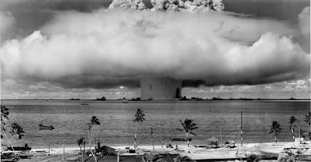 underwater nuclear explosion: Operation Crossroads Baker